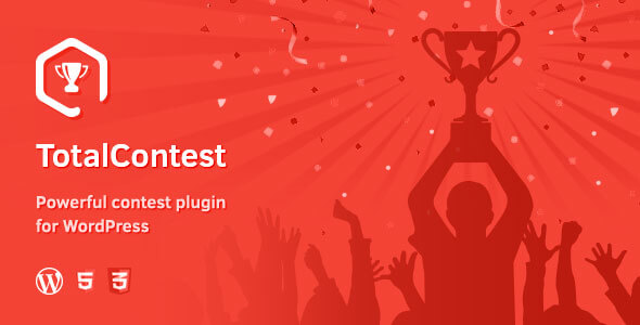 TotalContest responsive contest plugin  - cover - TotalPoll Pro – Responsive WordPress Poll Plugin